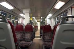 Carro moderno del tren Imágenes de archivo libres de regalías
