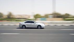 Carro movente Imagem de Stock Royalty Free