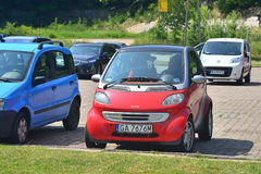 Carro muito pequeno Imagem de Stock