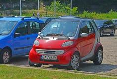 Carro muito pequeno Fotos de Stock Royalty Free