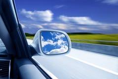 Carro na alta velocidade Foto de Stock Royalty Free
