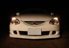 Carro na noite Imagem de Stock Royalty Free