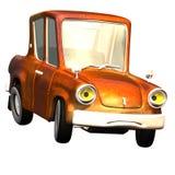 Carro no. 18 dos desenhos animados Imagem de Stock