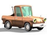 Carro no. 27 dos desenhos animados Imagens de Stock Royalty Free