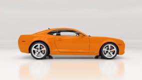 Carro no estúdio Fotografia de Stock