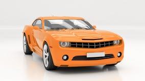 Carro no estúdio Imagem de Stock Royalty Free