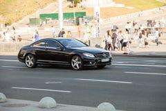 Carro no movimento Imagens de Stock Royalty Free