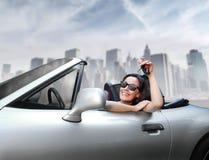 Carro novo Imagens de Stock Royalty Free