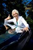 Carro novo fotos de stock royalty free
