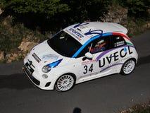 Carro novo da reunião 600 de Fiat Fotografia de Stock
