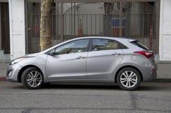 Carro novo do carro com porta traseira de Hyundai Fotos de Stock