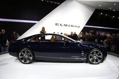 Carro novo do conceito de Cadillac imagens de stock royalty free