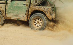 Carro Off-road Fotos de Stock Royalty Free