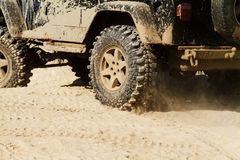 Carro Off-road Foto de Stock Royalty Free