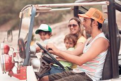 Carro Off-road Imagens de Stock Royalty Free
