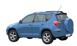Carro off-road do vetor Imagem de Stock