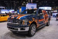 Carro oficial dos Chicago Bears foto de stock royalty free