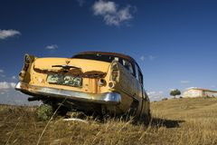 Carro oxidado Fotos de Stock Royalty Free