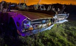 Carro oxidado velho Fotos de Stock Royalty Free