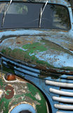 Carro oxidado velho. Imagens de Stock Royalty Free