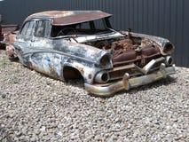 Carro oxidado velho Imagem de Stock Royalty Free