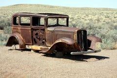 Carro para fora oxidado Imagem de Stock Royalty Free