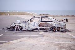Carro para fora queimado 7 Imagem de Stock Royalty Free