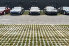 Carro para a venda Imagem de Stock Royalty Free