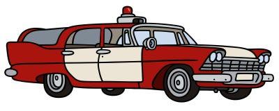 Carro-patrulha clássico do fogo Foto de Stock Royalty Free