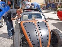 Carro Pinstriping Fotos de Stock Royalty Free