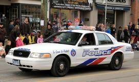 Carro policial Imagem de Stock Royalty Free