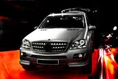 Carro preto Imagem de Stock