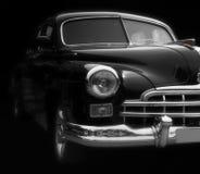 Carro preto clássico Fotografia de Stock Royalty Free