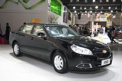 carro preto do epica de Chevrolet imagens de stock