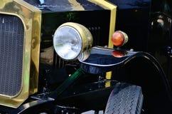 Carro preto do vintage Imagens de Stock