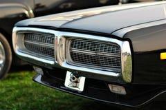 Carro preto velho do vintage Fotos de Stock