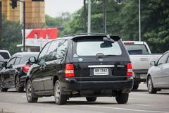 Carro privado de MPV, Kia Carnival foto de stock royalty free