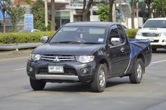 Carro privado do recolhimento, Mitsubishi Triton Imagem de Stock Royalty Free