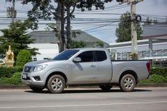 Carro privado do recolhimento, Nissan Navara Fotografia de Stock