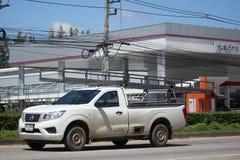 Carro privado do recolhimento, Nissan Navara Imagem de Stock Royalty Free