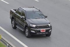 Carro privado do recolhimento, preto de Ford Ranger Imagem de Stock Royalty Free