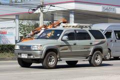 Carro privado do suv, cavaleiro do esporte de Toyota Fotografia de Stock
