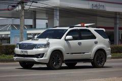 Carro privado do suv, Toyota Fortuner Fotos de Stock