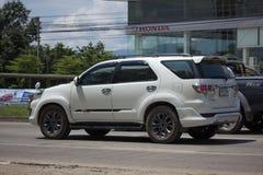 Carro privado do suv, Toyota Fortuner Imagens de Stock Royalty Free