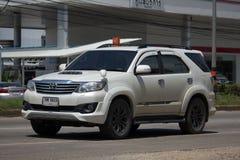 Carro privado do suv, Toyota Fortuner Imagens de Stock