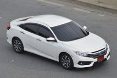 Carro privado Honda Civic 2016 do recolhimento Fotos de Stock