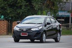 Carro privado novo de toyota Yaris ATIV Eco do carro do sedan Fotografia de Stock