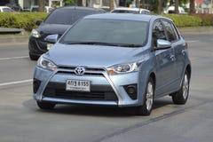 Carro privado Toyota Vios 2016 do recolhimento Imagens de Stock