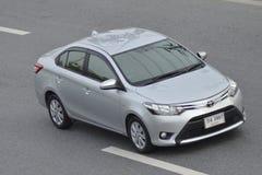Carro privado Toyota Vios 2016 do recolhimento Foto de Stock Royalty Free