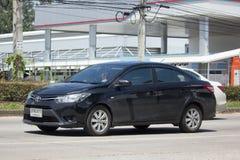 Carro privado Toyota Vios do sedan Fotografia de Stock Royalty Free